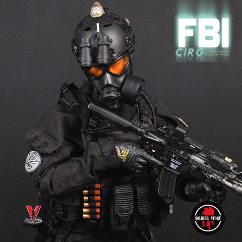 Soldier Story SS062 FBI Critical Incident Response Group CIRG