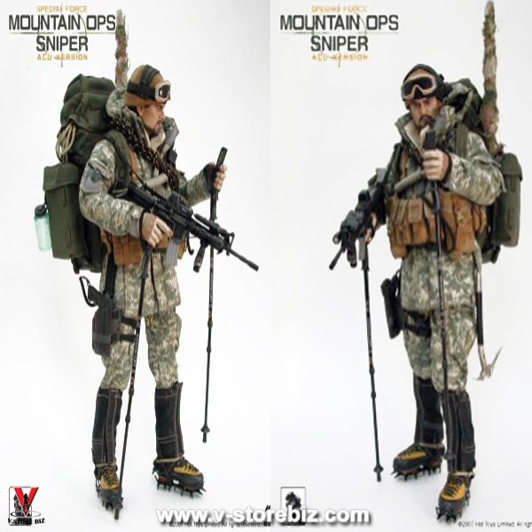 Hot Toys US Army Special Forces Mountain Ops Sniper (ACU Version)