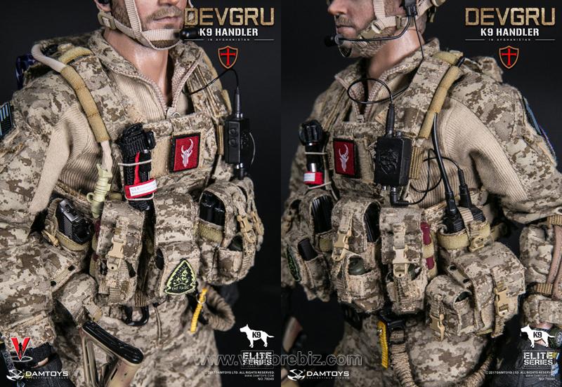 DAM 78040-1 DEVGRU K9 Handler in Afghanistan w/o K9