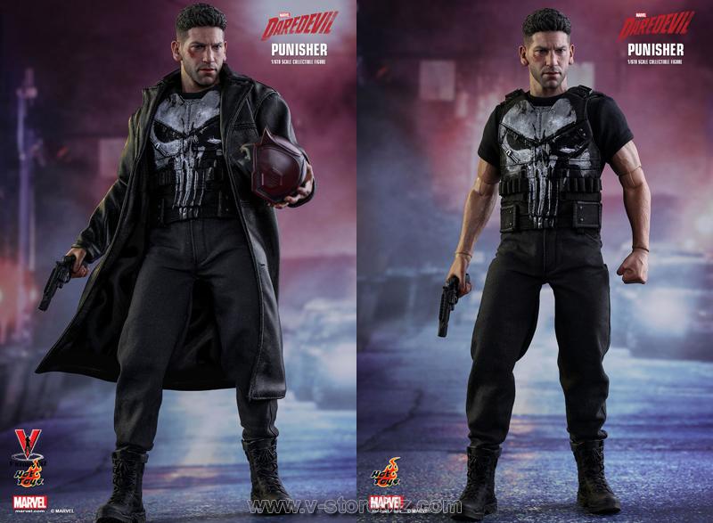 Hot Toys TMS004 Marvel's Daredevil The Punisher