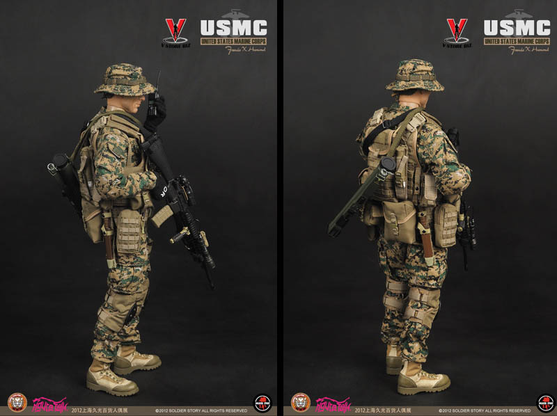 Soldier Story SS063 USMC Francis X Hummel Shanghai Expo 2012 Exclusive