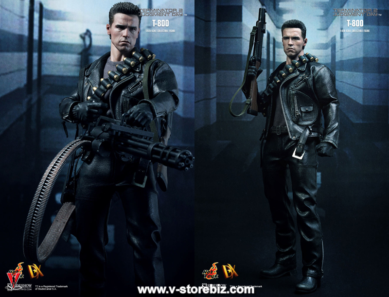 Hot Toys DX10 Terminator 2: Judgment Day T 800