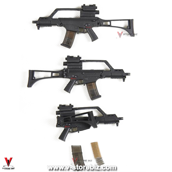 ZY Toys G36C Assault Rifle w/ High Rail