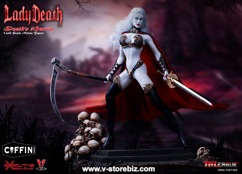 TBLeague PL2017-104B Lady Death Death's Warrior V2 Figure Only