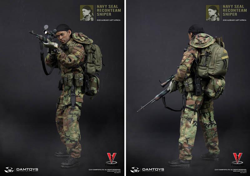 DAMToys 93014 Navy SEAL Recon Team Sniper