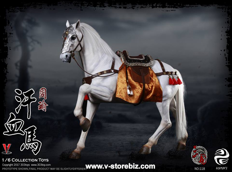 303TOYS NO118 Three Kingdoms Series Ferghana Horse of Zhou Yu
