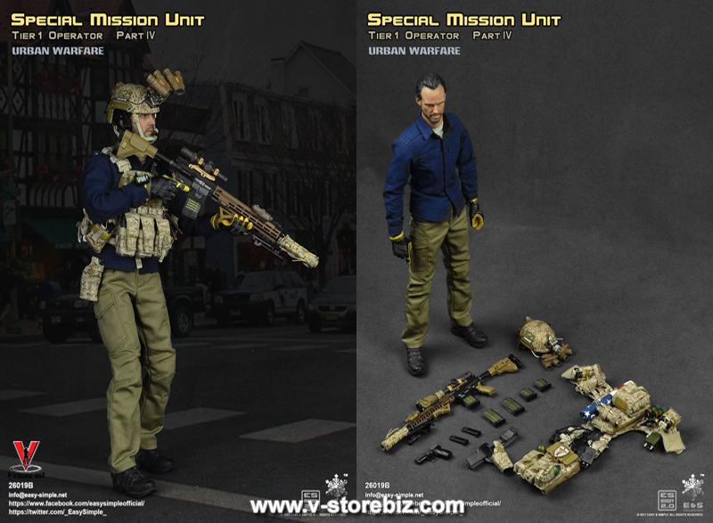 E&S 26019B Special Mission Unit Part IV Tier 1 Operator Urban Warfare