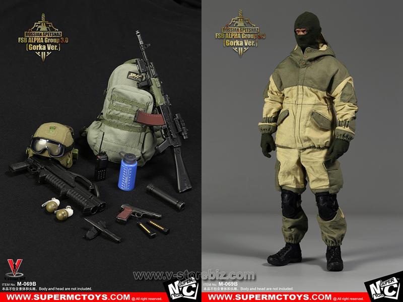 SuperMCToys Russian Spetsnaz FSB Alpha Group 3 (Gorka Ver.)