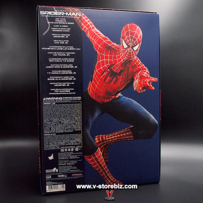 Hot Toys MMS143 Spider-Man 3 Spider-Man