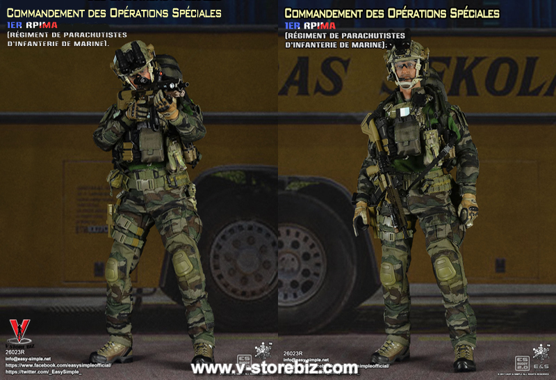 E&S 26023R Commandement des Opérations Spéciales