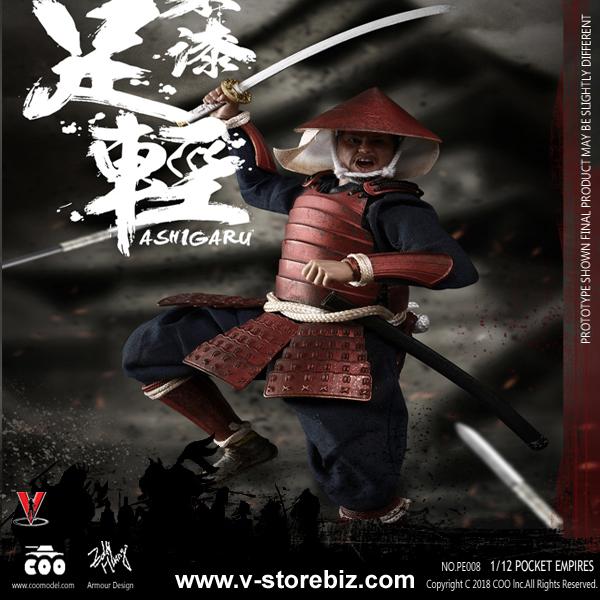 Coomodel PE008 1/12 Palm Empires Red Armor Ashigaru