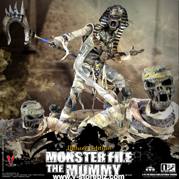 Coomodel x Ouzhixiang MF008 Monster File Series - Mummy (Deluxe)