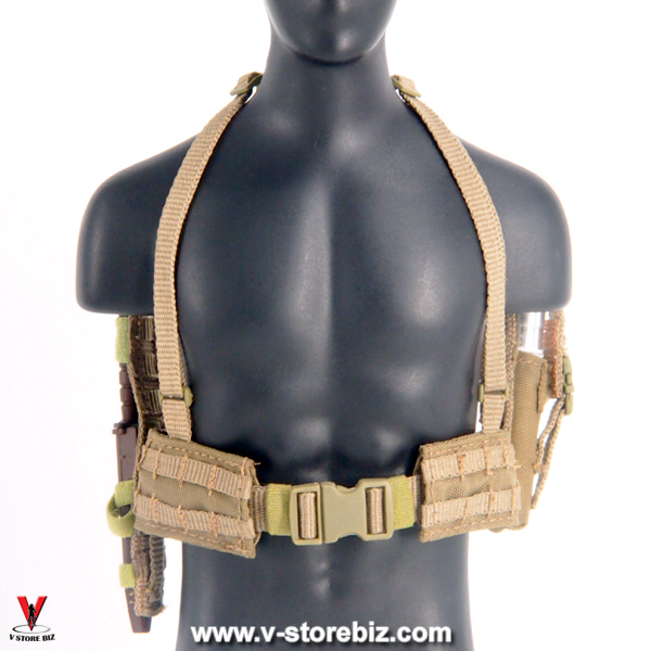 Soldier Story SS066 USMC 2nd MEB Afghanistan FSBE II Shoot Kit Belt with Knife & Flare