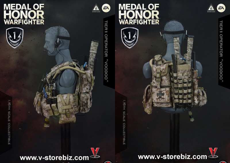 Soldier Story SS106 Medal Of Honor Navy SEAL Tier 1 Operator Voodoo