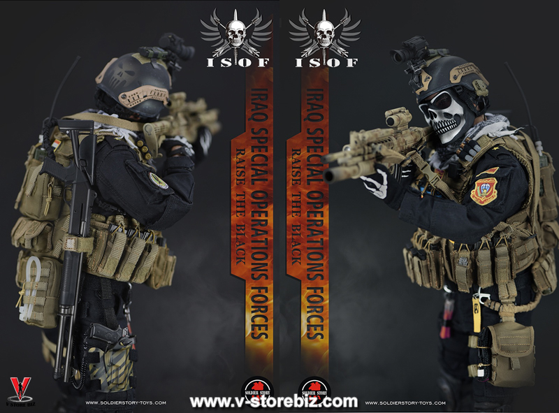 "Soldier Story SS105 Iraq Special Operations Forces ""ISOF"""