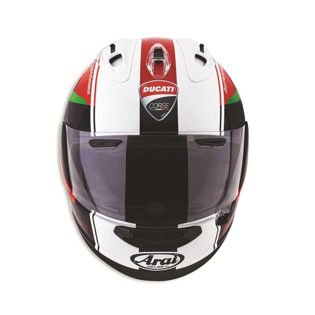 Ducati Corse Red Arrow Helmet by Arai
