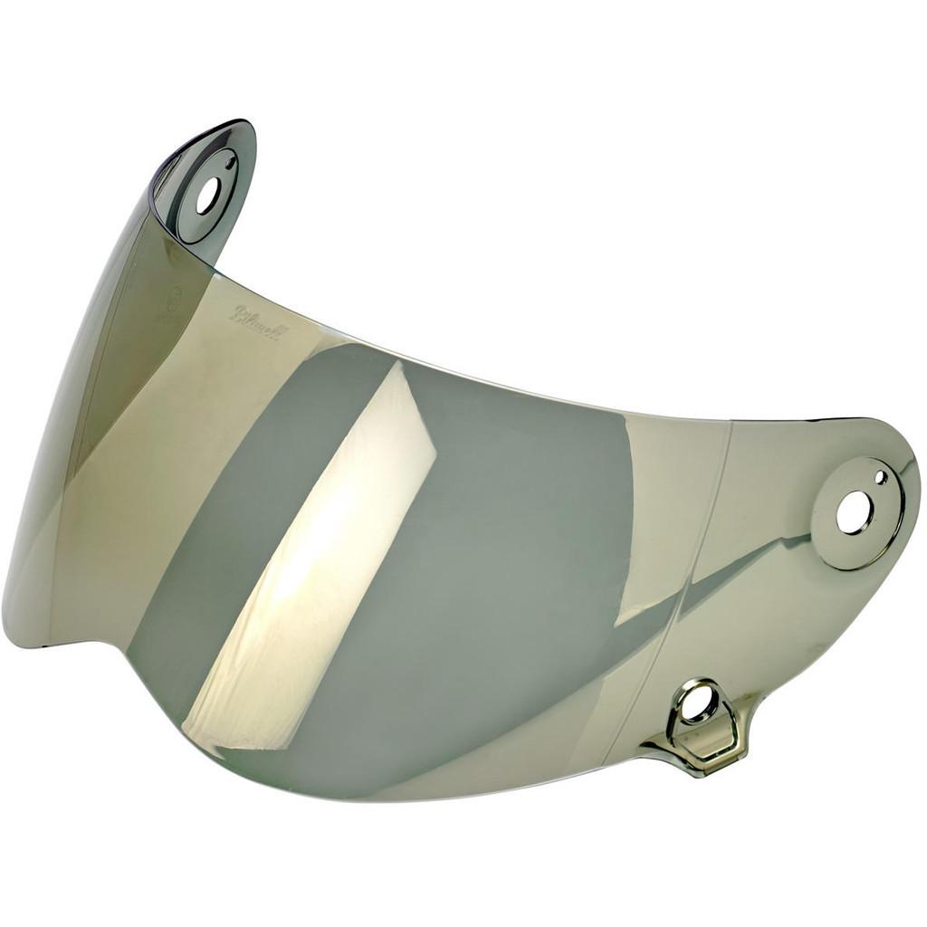 Biltwell Lane Splitter Shield (Gold Mirror)