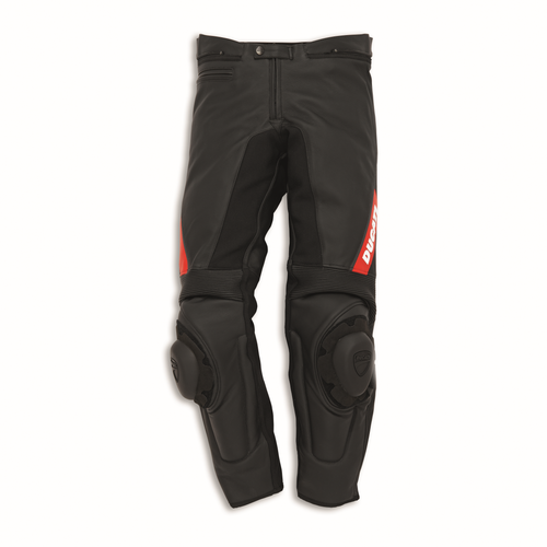 Ducati Sport C2 Leather Riding Pants by Dainese