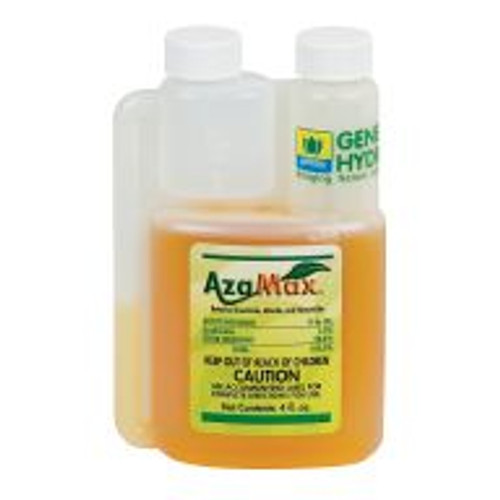 Azamax is a broad-spectrum organic insecticide that controls pests like mites, aphids, whiteflies, caterpillars, thrips, grasshoppers and more! Its active ingredient, a natural derivative of the neem tree, is safe enough for application in any high-traffic area. It's also great as an additive to other insecticides, as it makes pests more vulnerable to them.