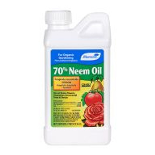 Neem Oil controls black spot, rust and mildew, and kills mites and insects including whitefly, aphid and scale. Safe for use indoor or out on ornamental plants, flowers, vegetables, trees, shrubs as well as fruit and nut crops.