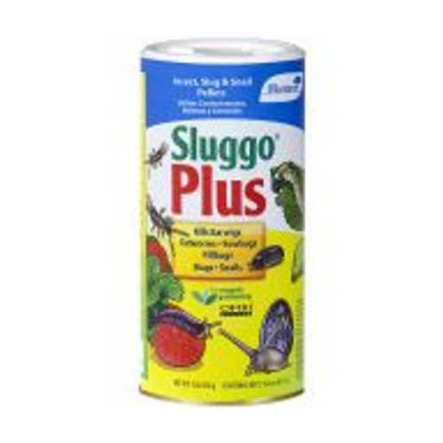 Effective against sowbugs, pillbugs, cutworms, slugs, snails, and more, Monterey Sluggo Plus is safe to use around most plants in the yard and garden. Sluggo Plus uses Spinosad, a chemical found in soil dwelling bacteria, in its no mess pellet formula. One pound of pellets treats approximately 2000 square feet and lasts up to four weeks.