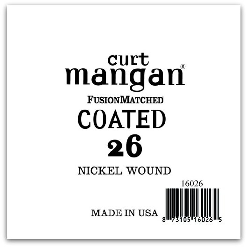 26 Nickel-Plated Steel COATED Single String