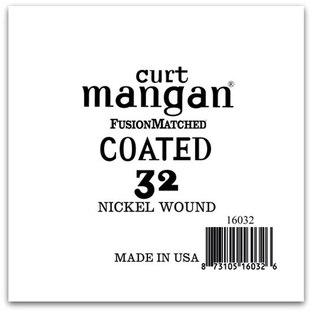 32 Nickel-Plated Steel COATED Single String