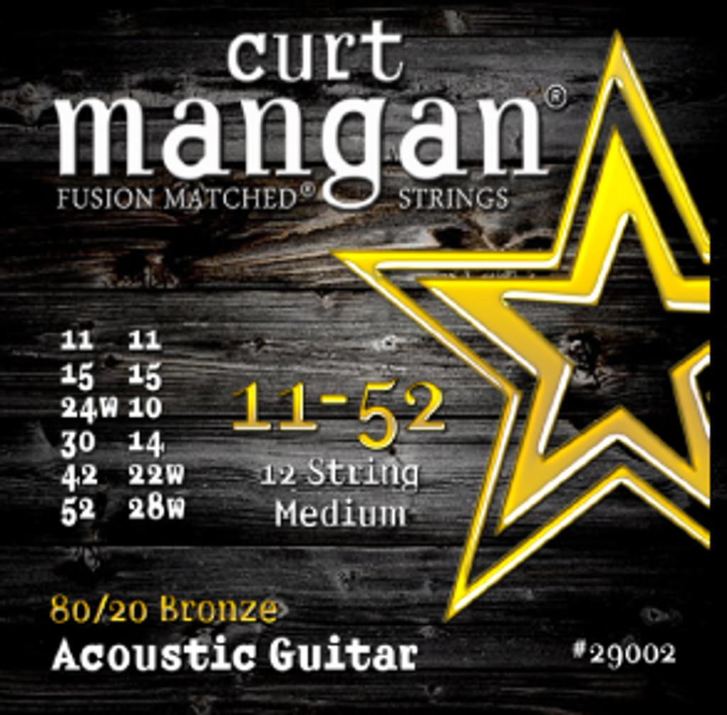 11-52 12-String Medium 80/20 Bronze