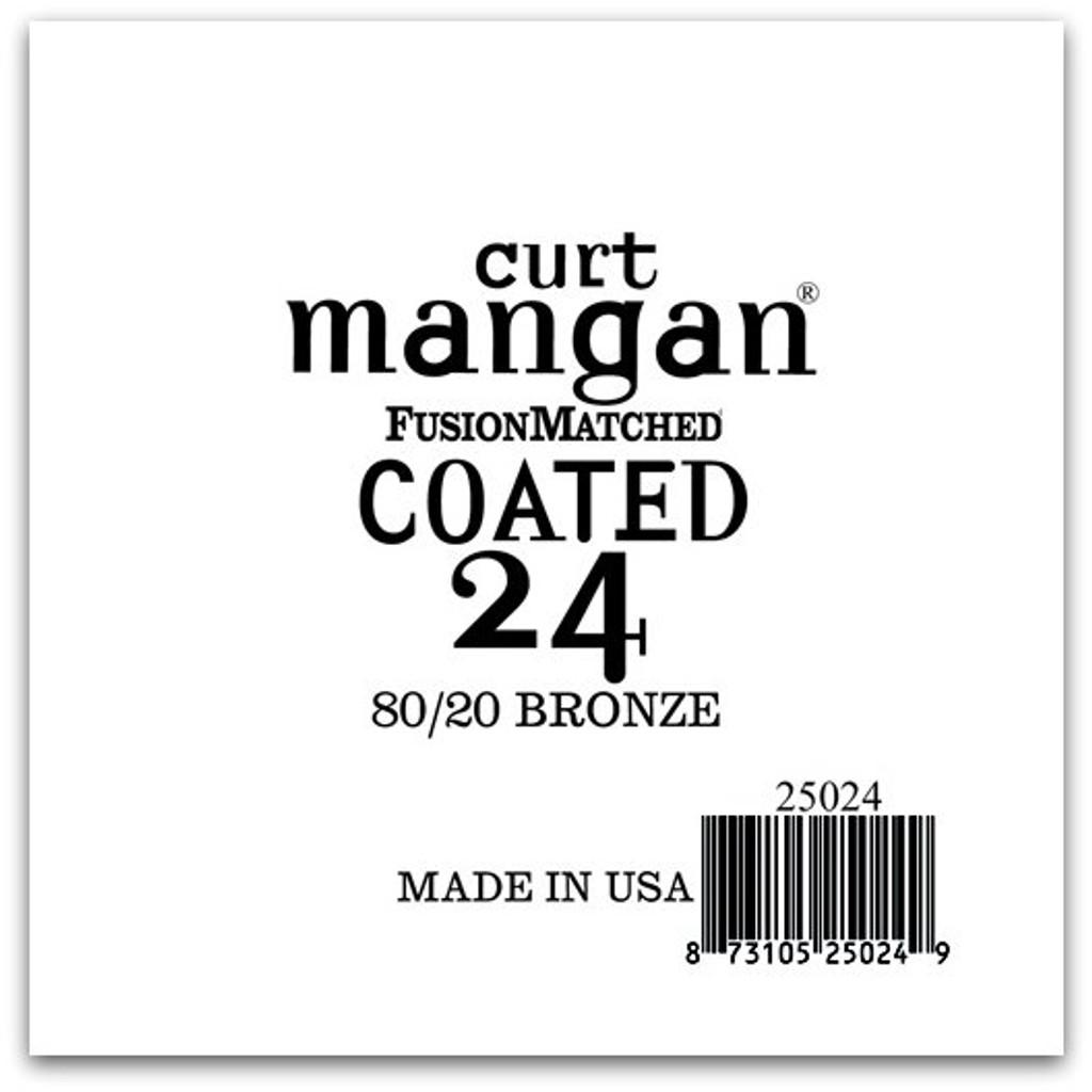 24 80/20 Bronze COATED Single String