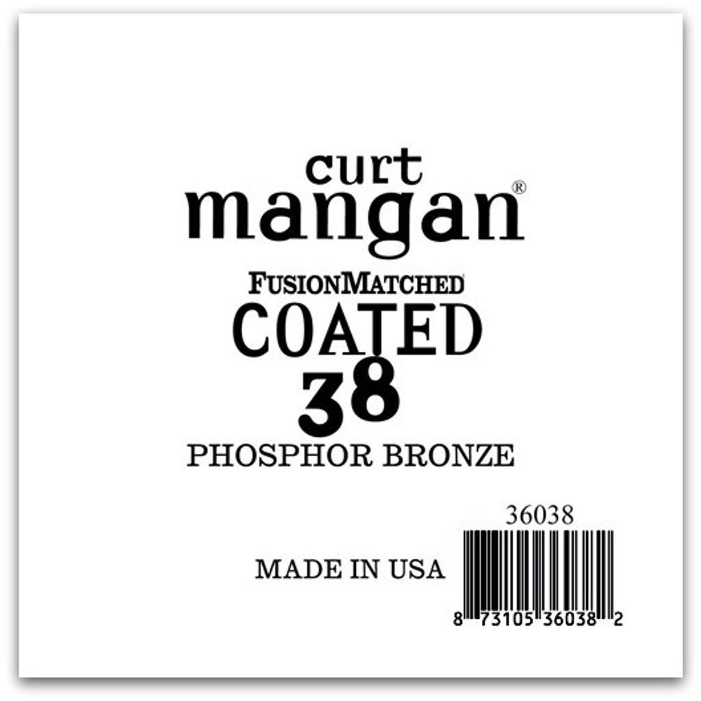 38 PhosPhor Bronze COATED Single String