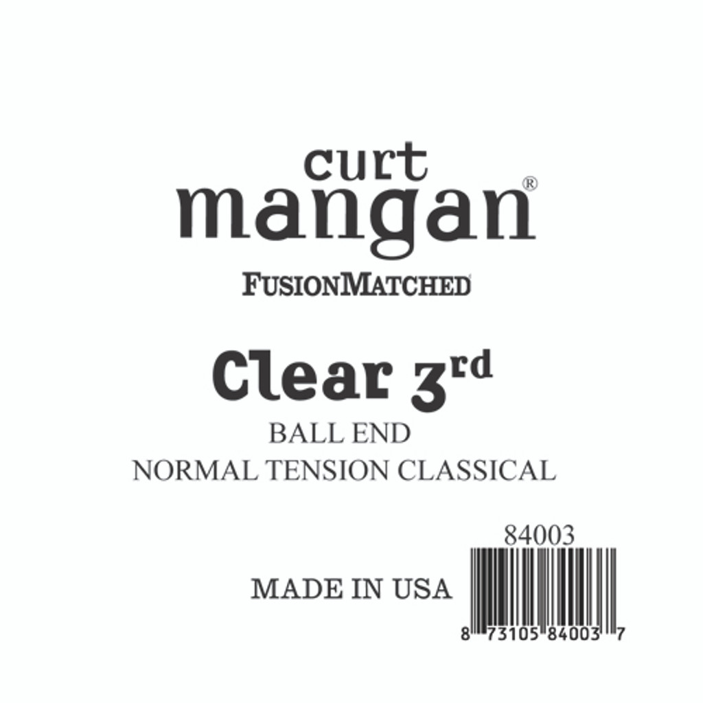 Clear 3rd Ball End Normal Tension Single String