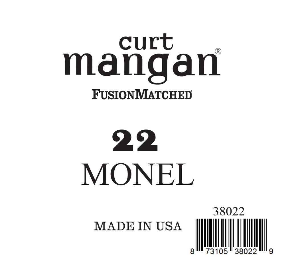 22 Monel Ball End Single String