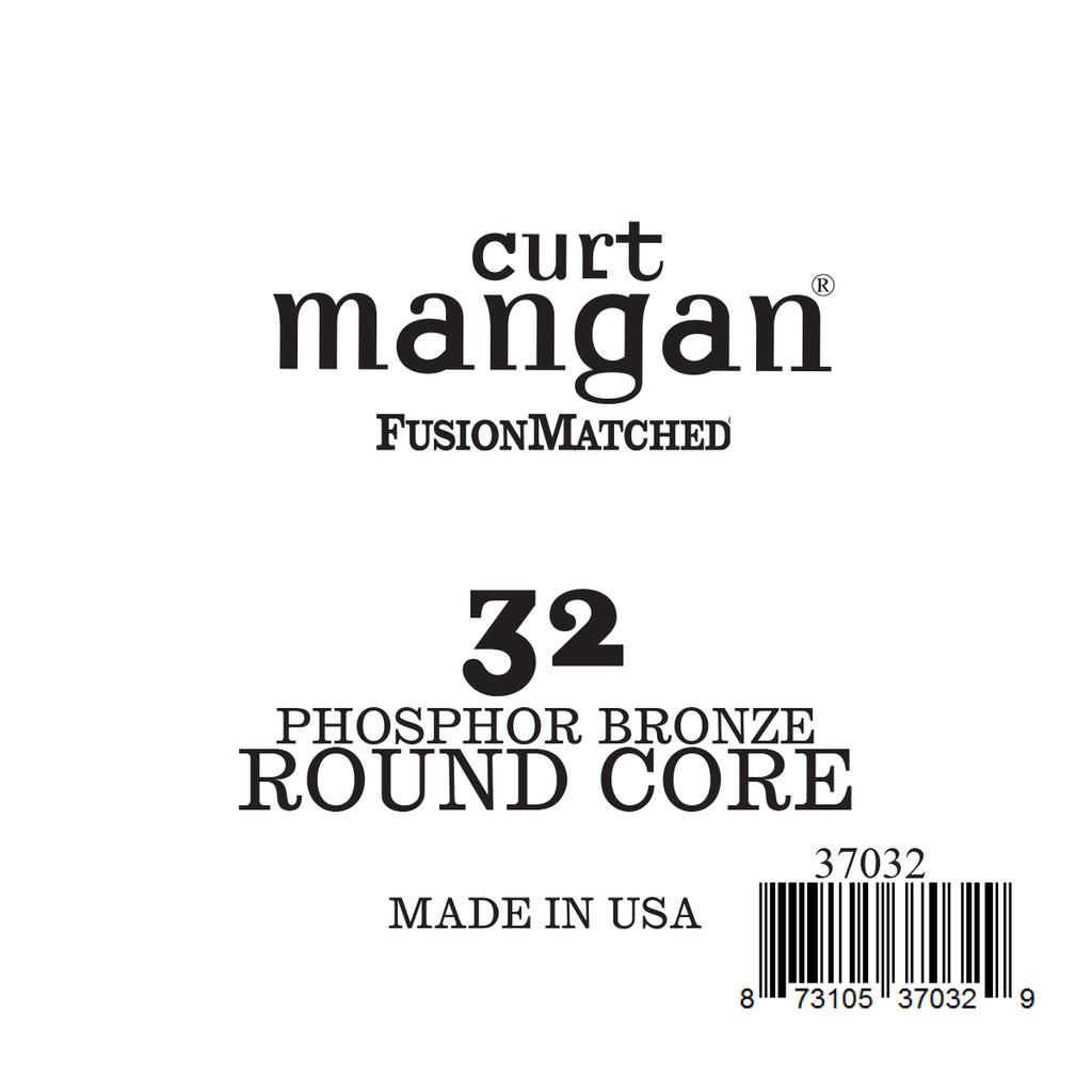 32 Phozphor Bronze ROUND CORE Single String
