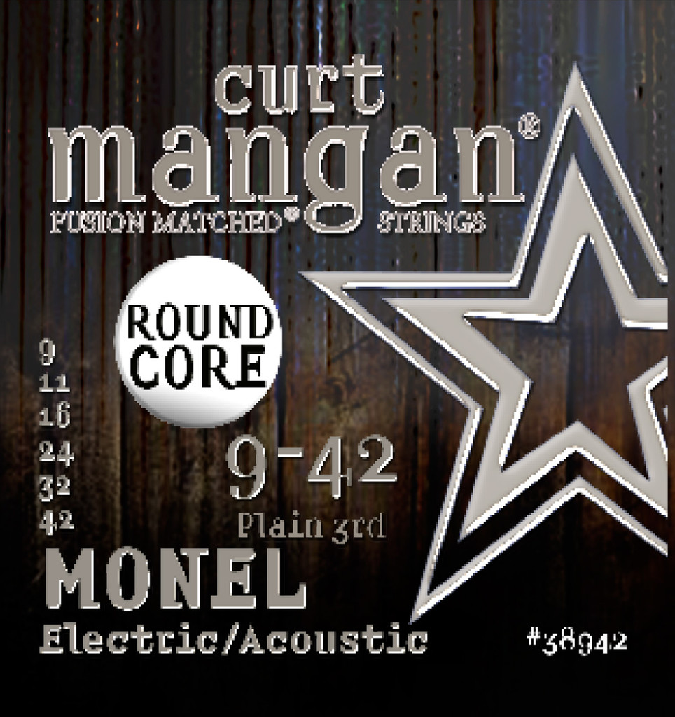 Monel Round Core 9-42 SIX PACK