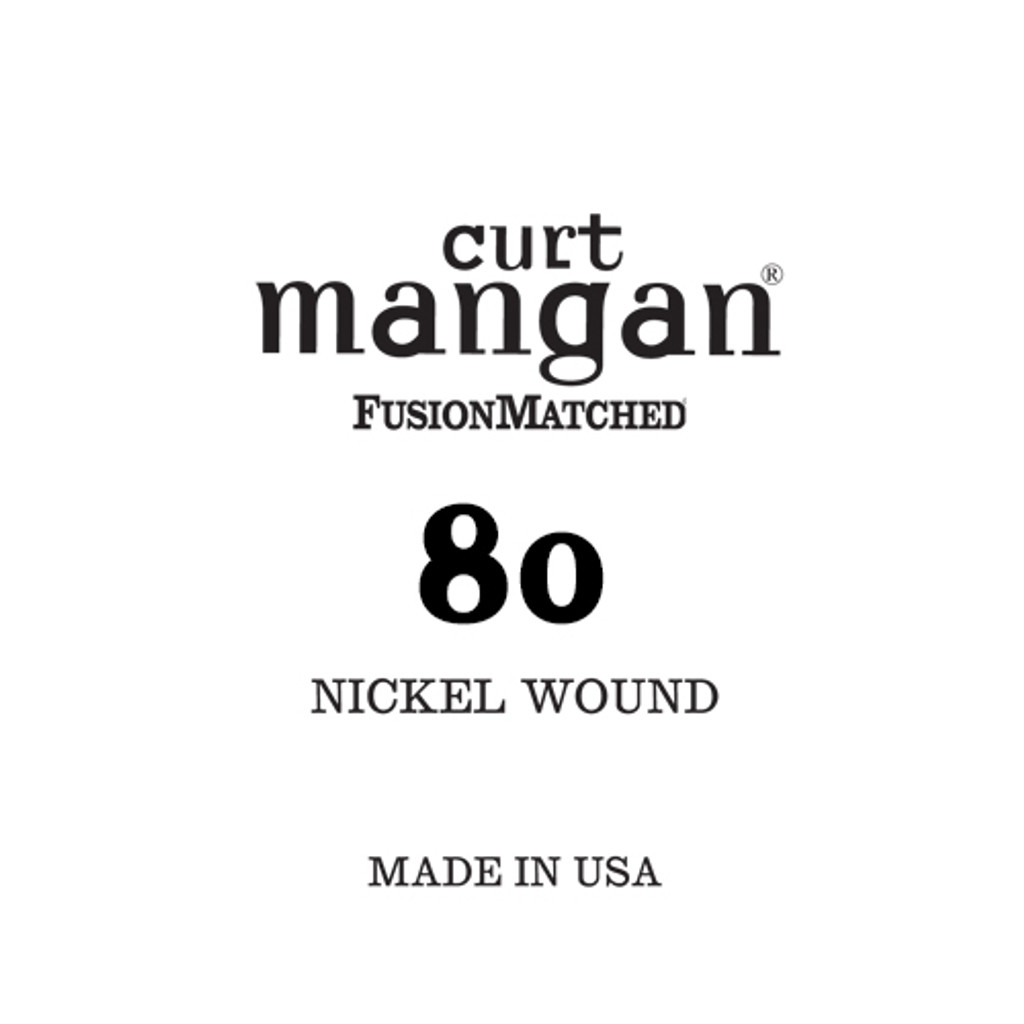 80 Nickel Wound Ball End Single String
