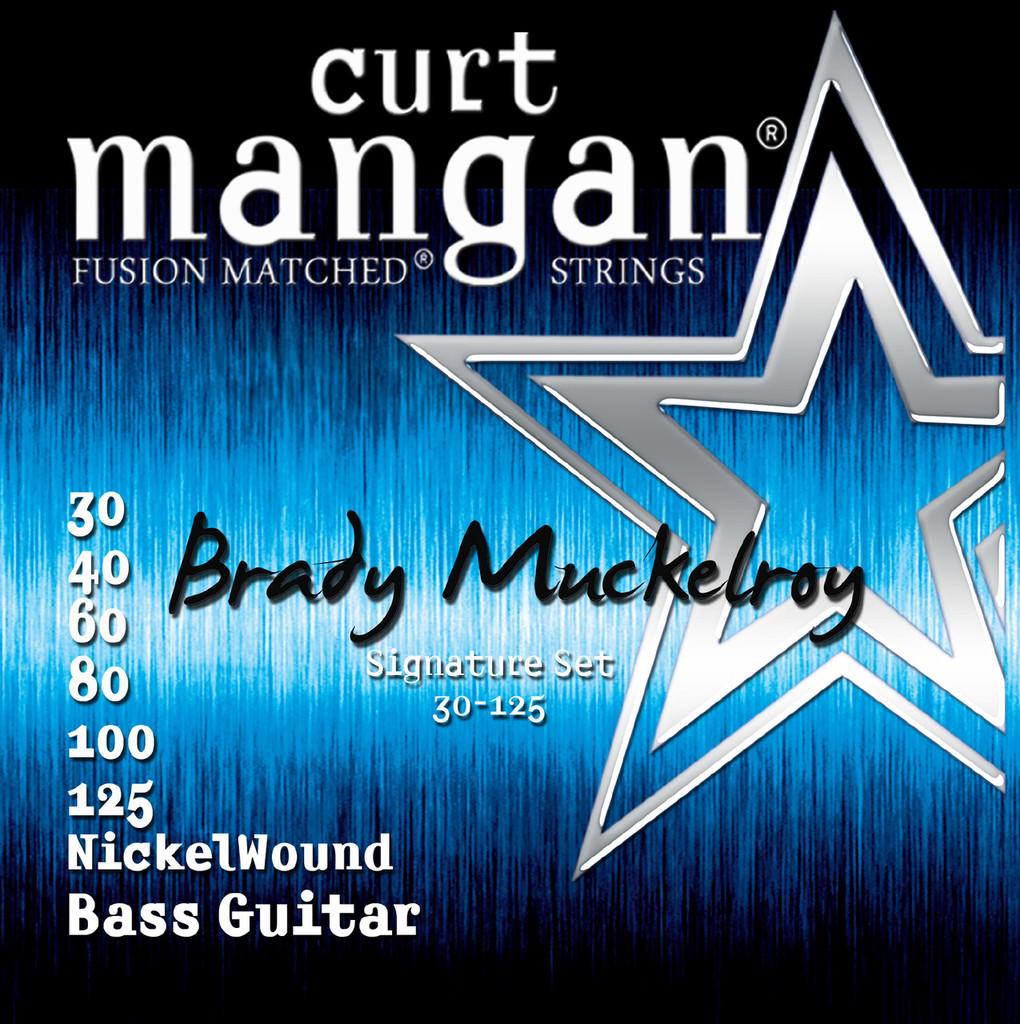 Brady Muckelroy Custom 30-125 6 String Set