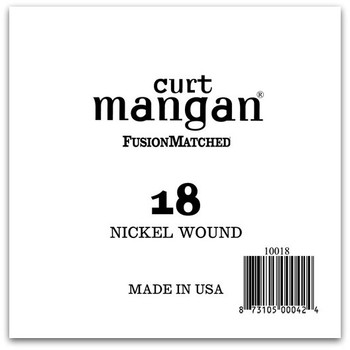 18 Nickel Wound Ball End Single String