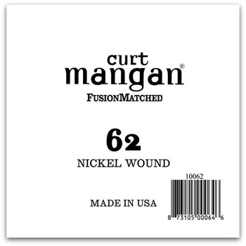 62 Nickel Wound Ball End Single String