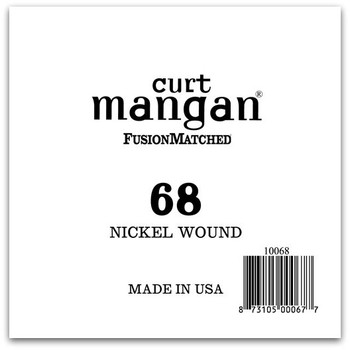 68 Nickel Wound Ball End Single String
