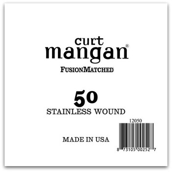 50 Stainless Wound Ball End Single String