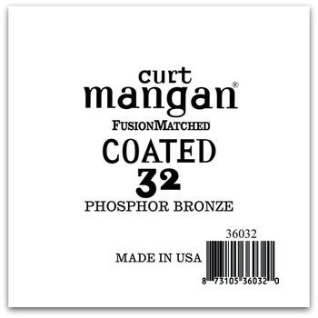 32 PhosPhor Bronze COATED Single String