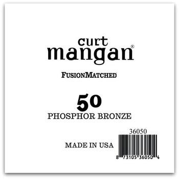 50 PhosPhor Bronze COATED Single String