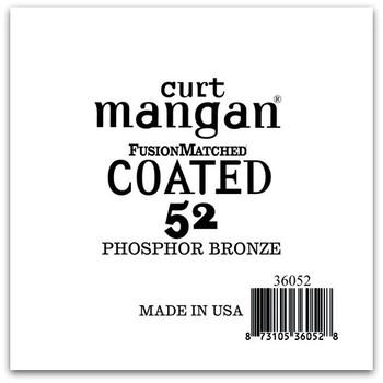 52 PhosPhor Bronze COATED Single String