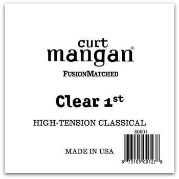 Clear 1st High-Tension  Single String