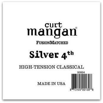 Silver 4th High-Tension Classic Single String