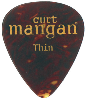 Thin Tortoise Shell Pick