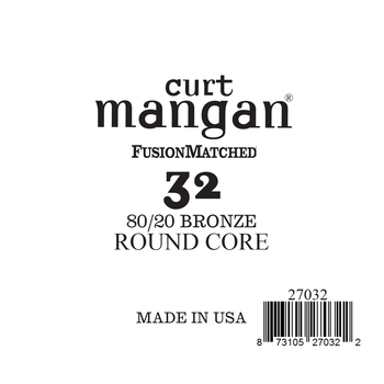 32 80/20 Bronze ROUND CORE Single String