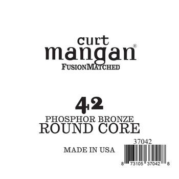 42 Phozphor Bronze ROUND CORE Single String