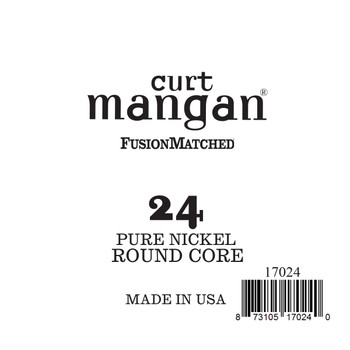 24 Pure Nickel ROUND CORE Single String
