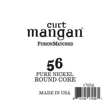 56 Pure Nickel ROUND CORE Single String